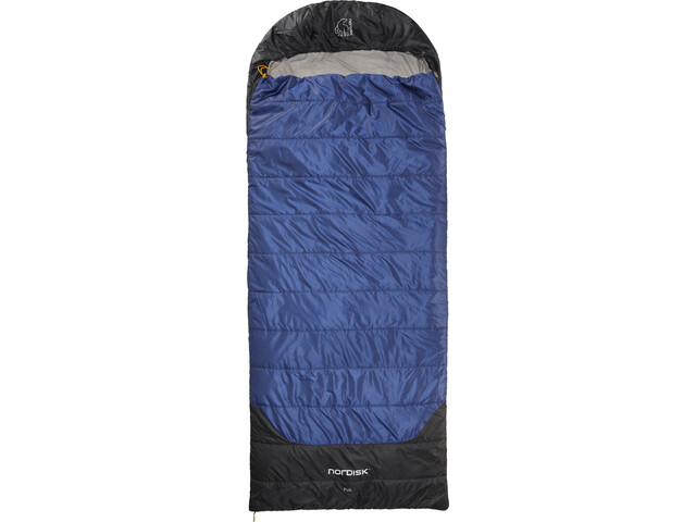 Nordisk Puk +10° Blanket Sac de couchage XL, true navy/steeple gray/black